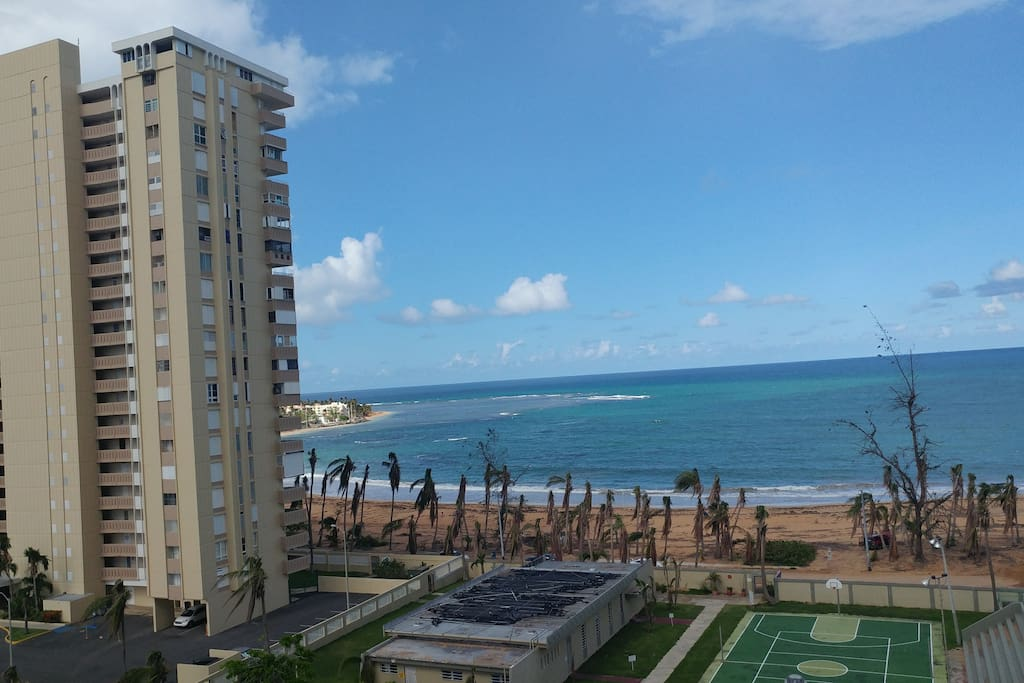 Playa Azul complex where we are located on the 20th floor
