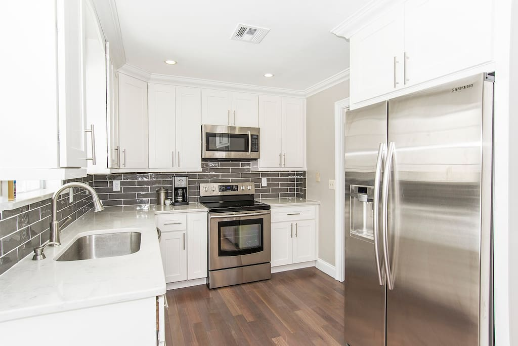Renovated Kitchen with all amenities.