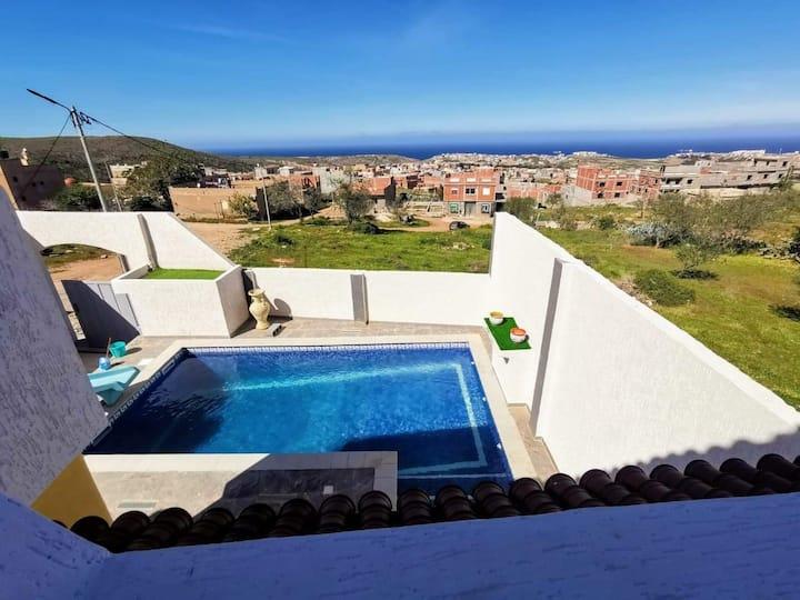 Villa EDEN piscine privée sans vis à vis et hamam