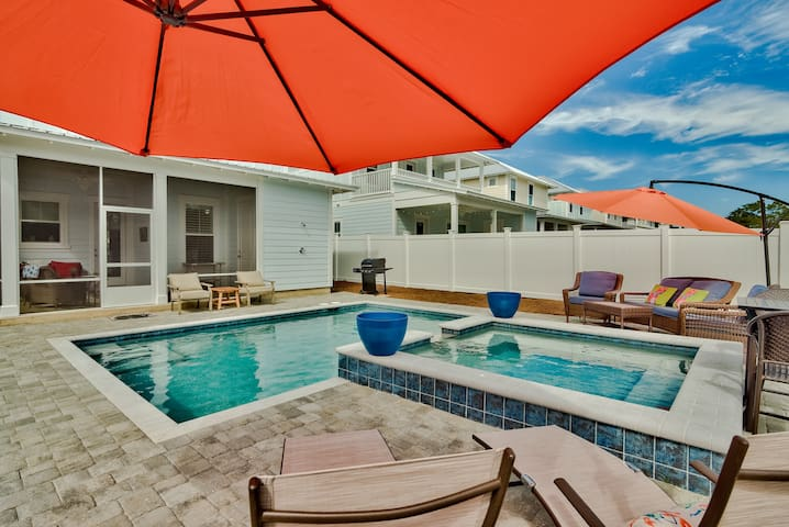 Unit 231:NEW! 4 BR w/(2 Masters) Huge Private Heated Pool & 10 person Spa