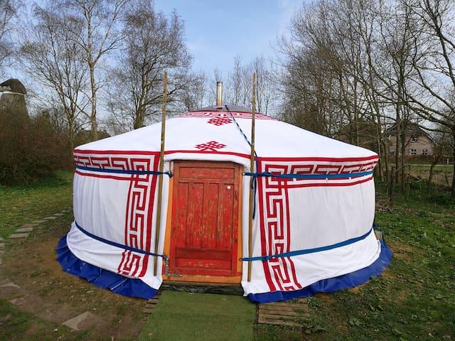 GERvaring: logeren in een warme Mongoolse tent.