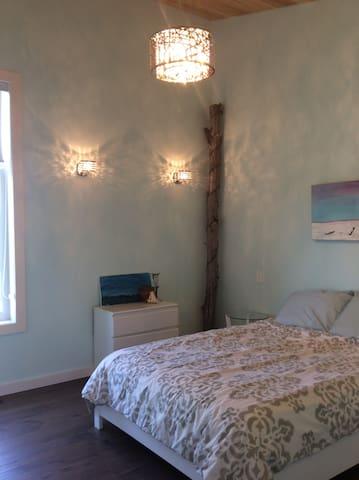 Bedroom # 2 in house Queen Bed