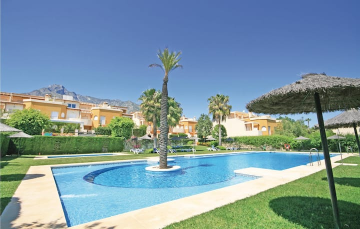 Awesome home in Marbella with WiFi and 4 Bedrooms