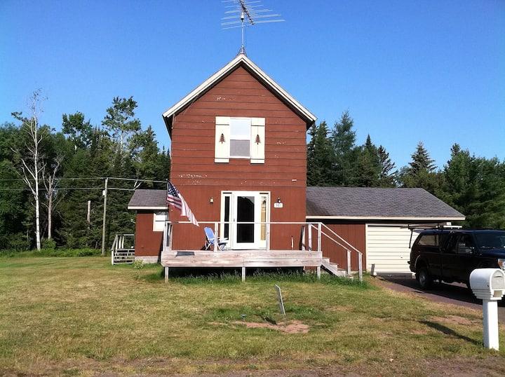 Gay Old Mining House, very near Lake Superior