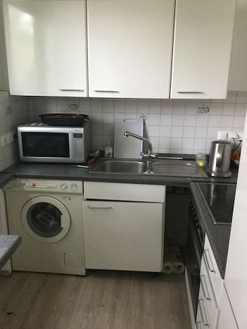 Zentral gelegene 2 Zimmer Wohnung - Wuppertal - Apto. en complejo residencial