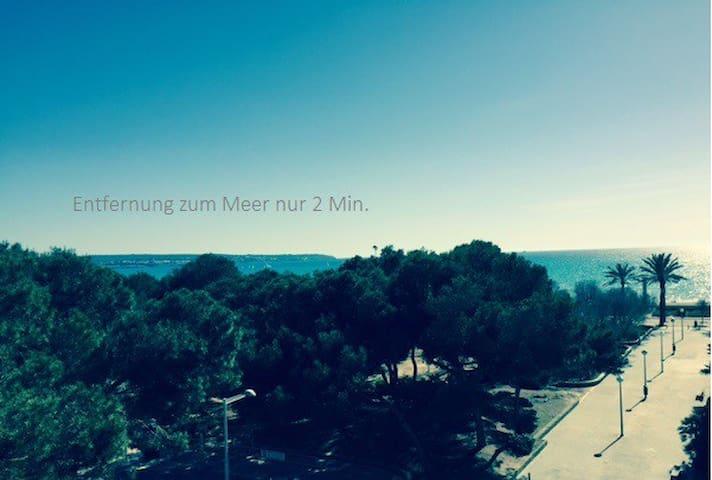 Playa de Palma, Penthouse, Balinero 9, Sea view,