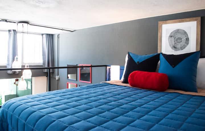 Luxury Loft 104 whit A/C - Zona 11 Guatemala City