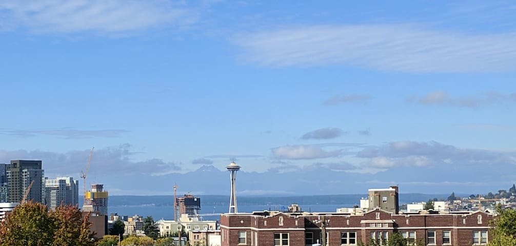 ⭐ Rooftop Views of the Space Needle, Sound, & City