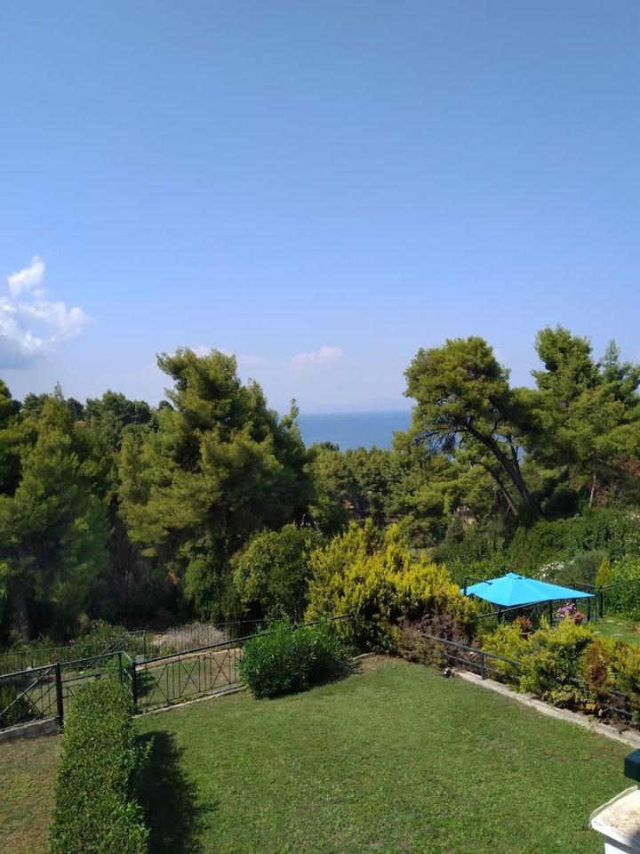 Maisonette,amazing view,Paradise complex,Kriopigi