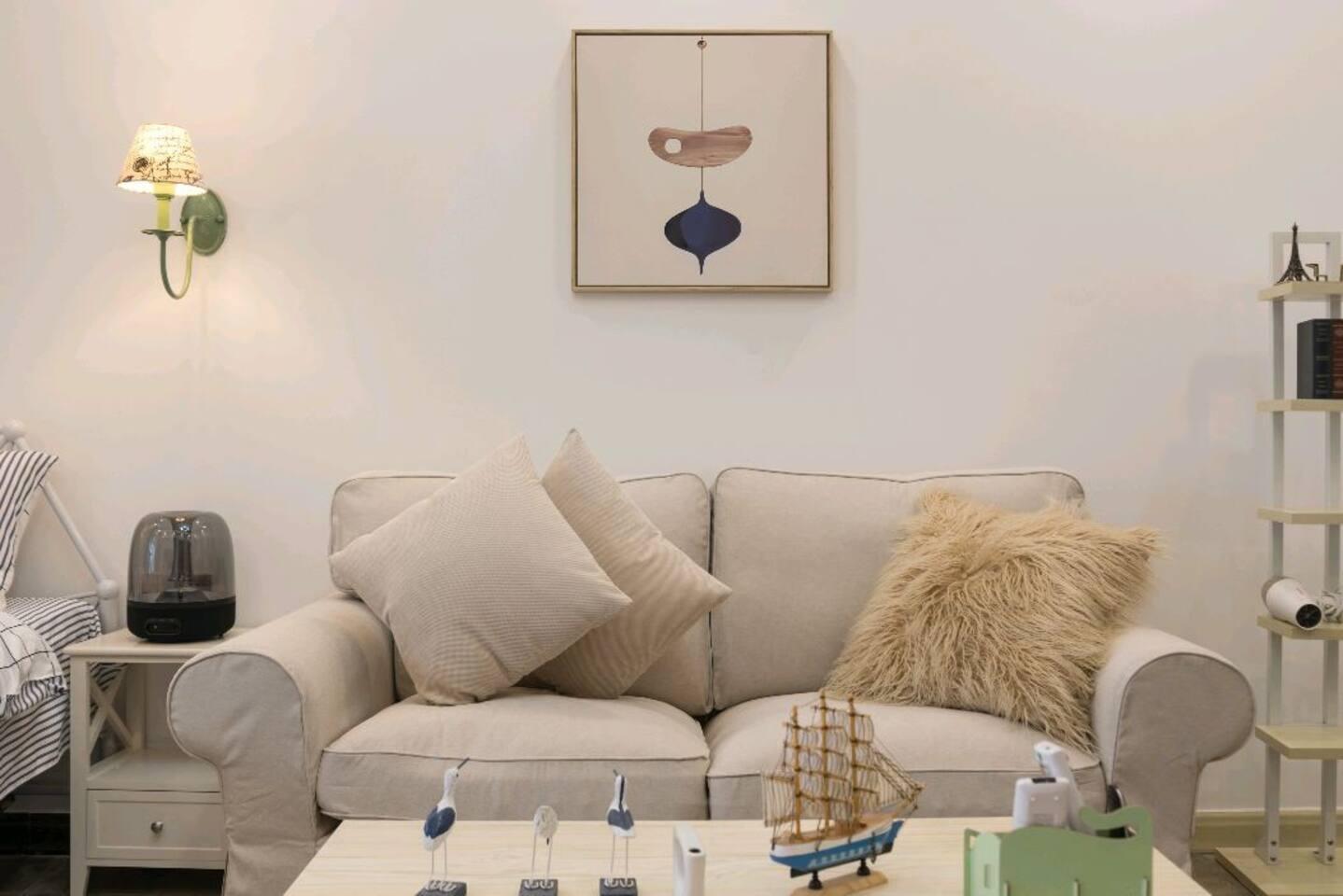 宜家沙发,柔软舒适!