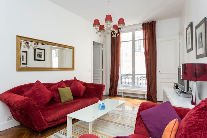 Quiet Apartment in the Heart of Paris