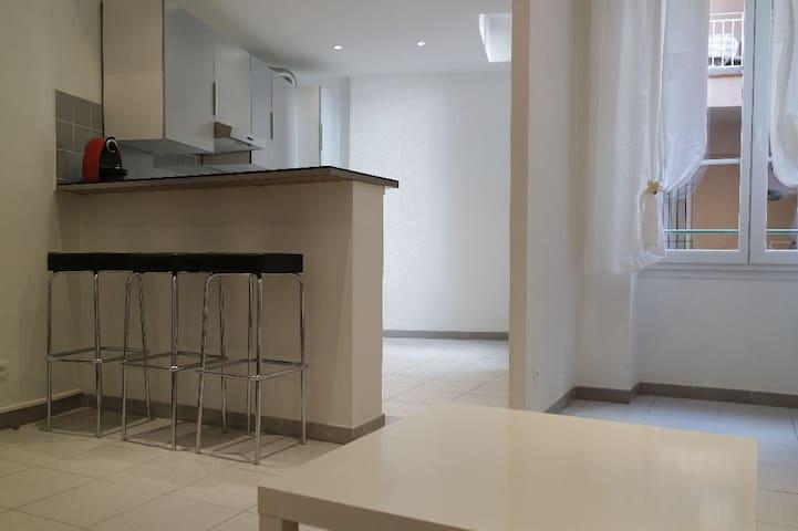 En plein centre ville, joli appartement - Nîmes - Apartemen