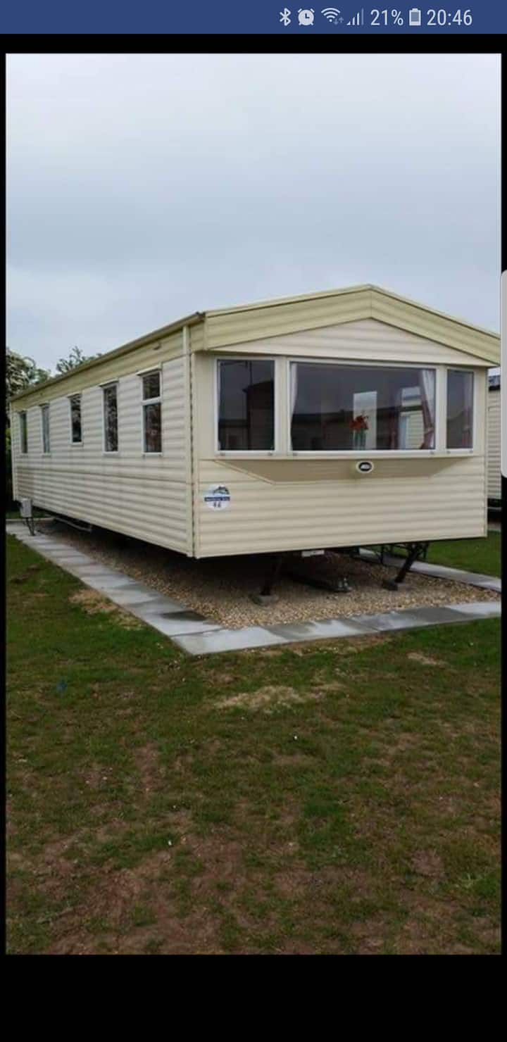 Mrs Boult 8 berth caravan