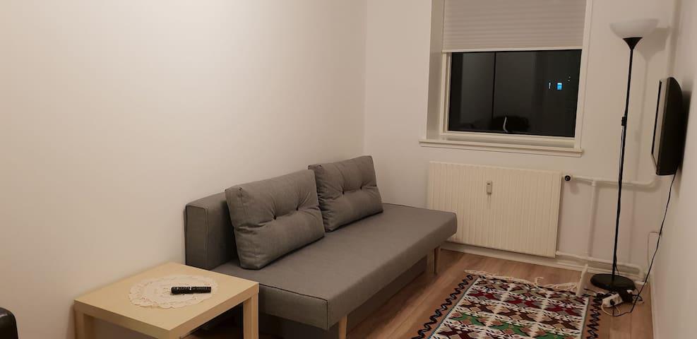 Quiet cosy room