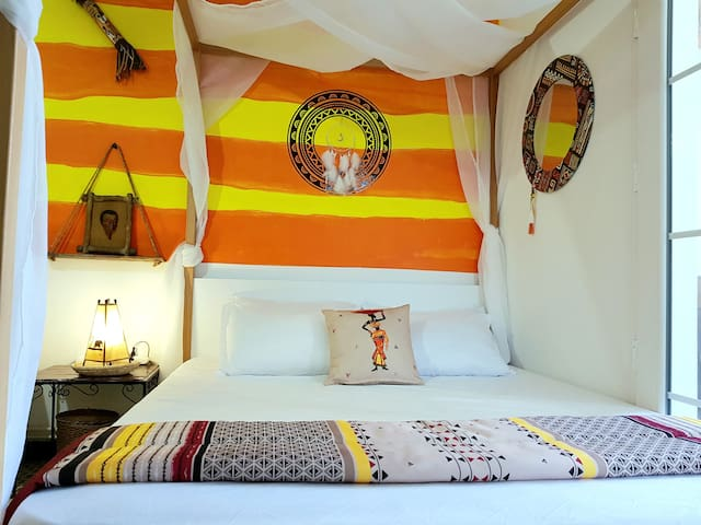 African Loft - Petit paradis au cœur de la Marsa!