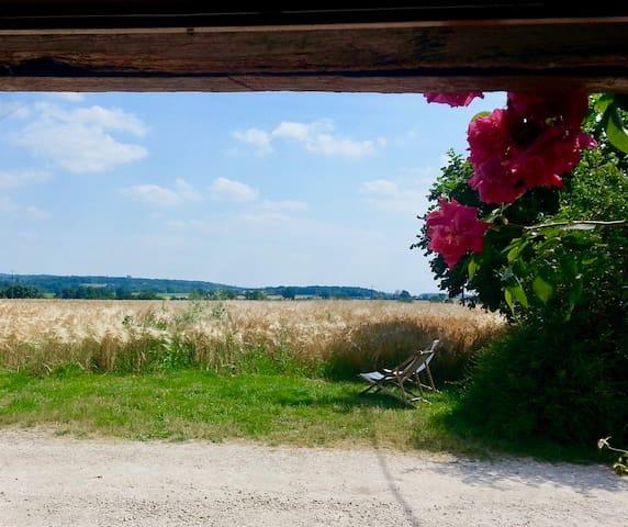 Gîte rural avec piscine en Touraine