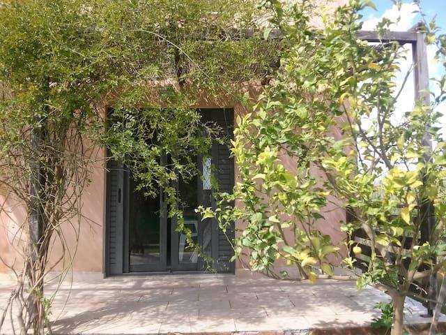 Quiet studio with a garden in Evia - Evia - Pensió