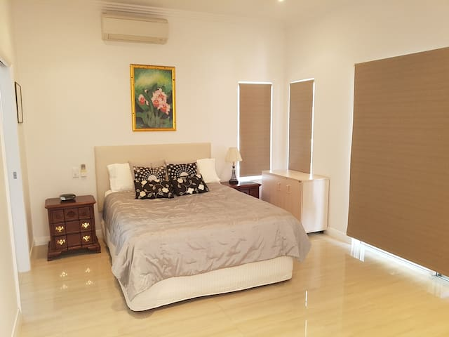 Bedroom 2, with large full ensuite