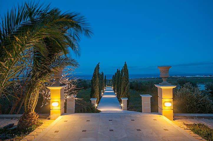 LEON VILLA standard double sea view - Vourvoulos - 家庭式旅館