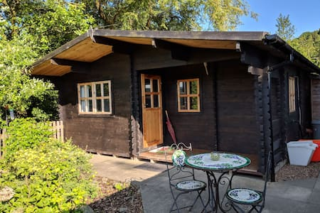 Blaen Wern cosy cabin with mountain view
