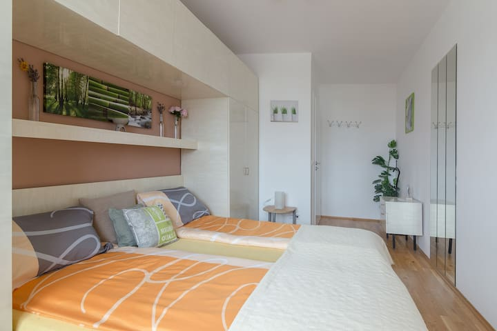 Second dorm with spacious bed for minimum 2 Persons