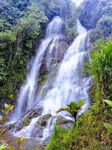 Cabaña Cascada La Escalera