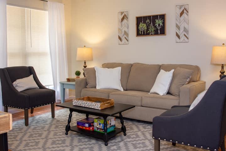 Cozy, Convenient, and Clean