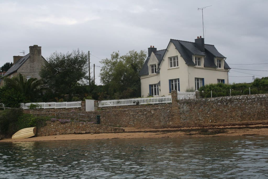 Maison direct plage plein Sud