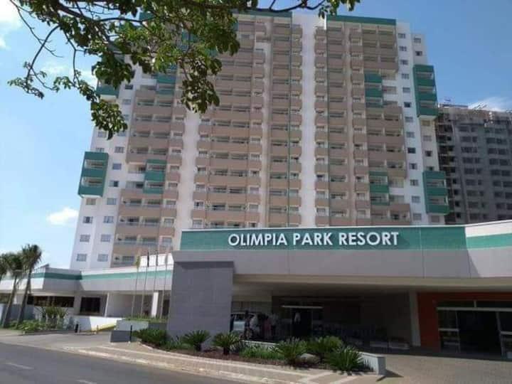 Apto em um dos melhores Resorts de Olimpia