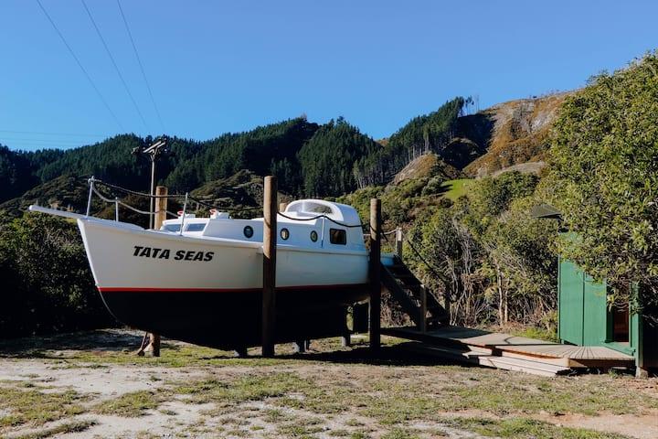 Tata Seas - an adventure for the land based sailor