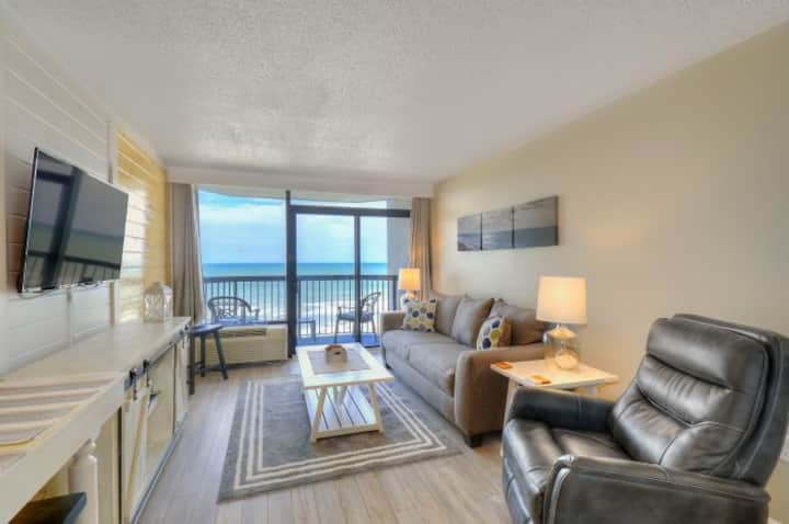 ★OCEANFRONT★ ♛King Bed★Tons of AMENITIES @ Compass Cove★ BGr