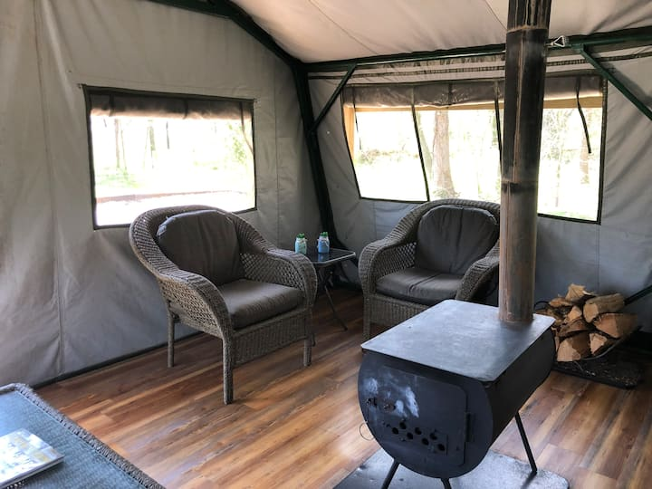 Glamping Tent - Camping with comfort