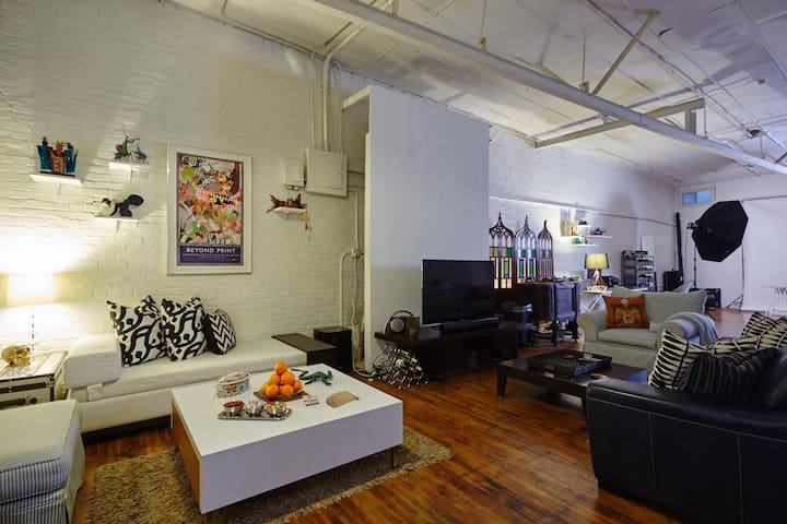 Private Room in Gorgeous Loft! - Ridgewood