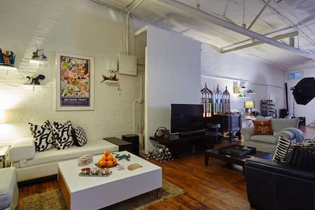 Private Room in Gorgeous Loft! - Ridgewood - Loftlakás