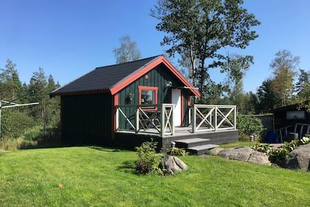 Gäststuga nära Landvetters flygplats och Göteborg