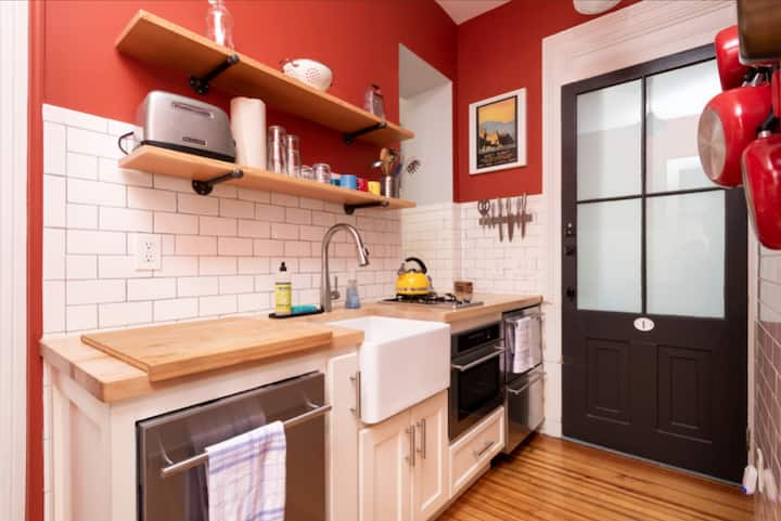 Cozy 2 Bedroom Apartment in the Center of Hudson