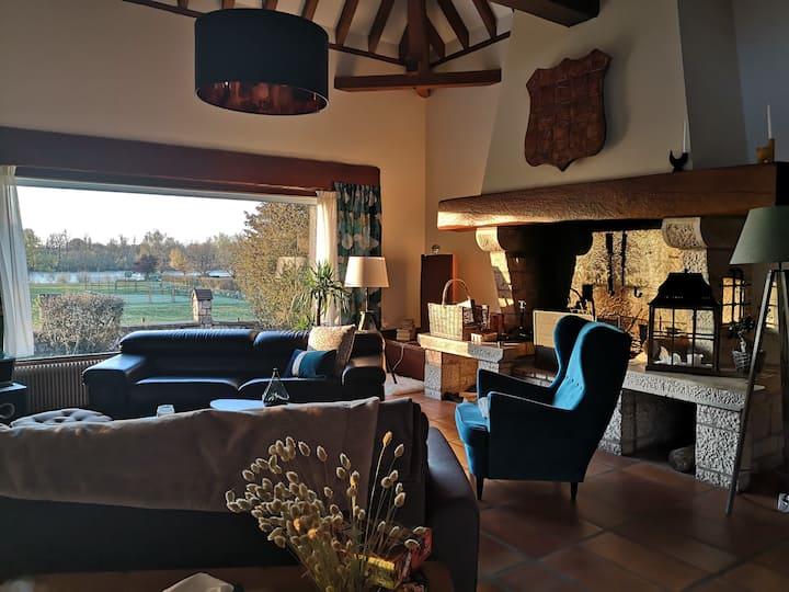 La Maison sur la Loire, aux portes de Chambord