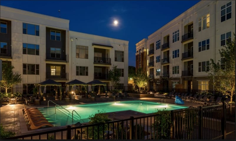 Luxury Downtown Get Away with Pool!