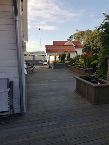 Idyll ved sjøen - Langesund  - Dom