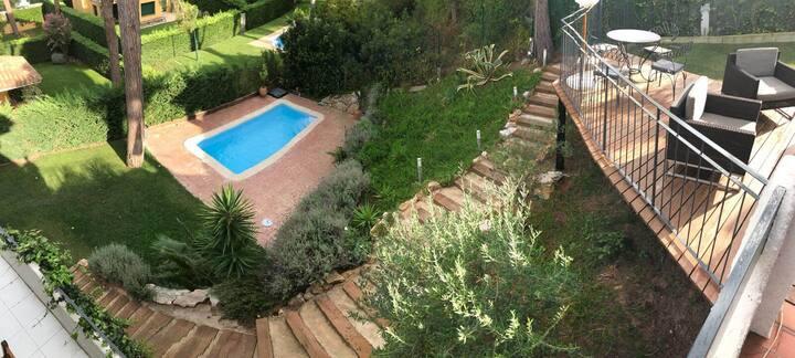 Villa in Pals met prive zwembad 5personen