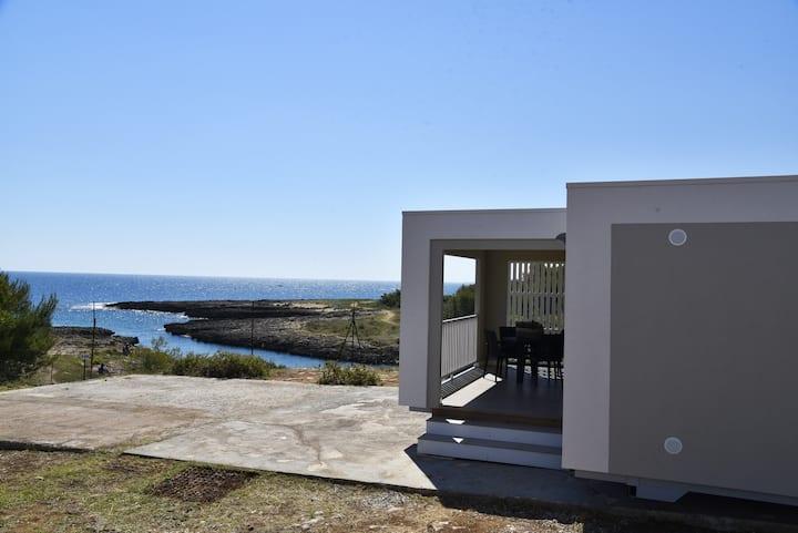 Camping Santo Stefano: Case mobili sul mare!