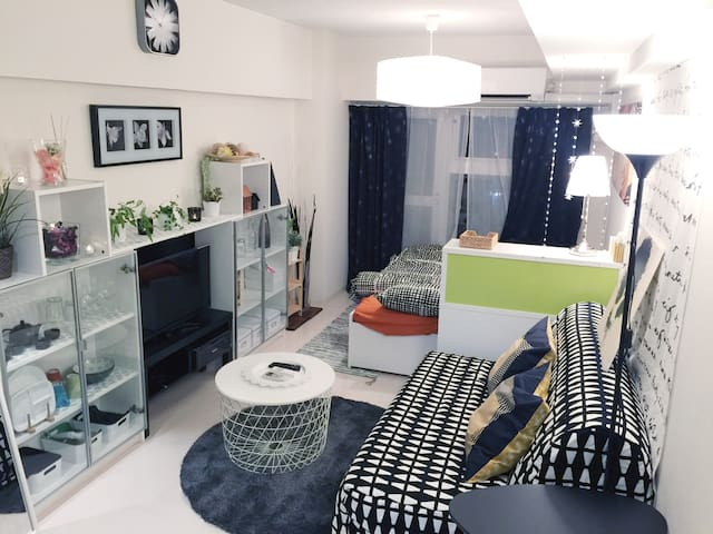 Clean and White Romantic Room!