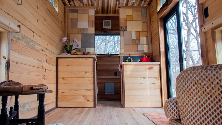 Tiny Home Away From Home: Concert Car