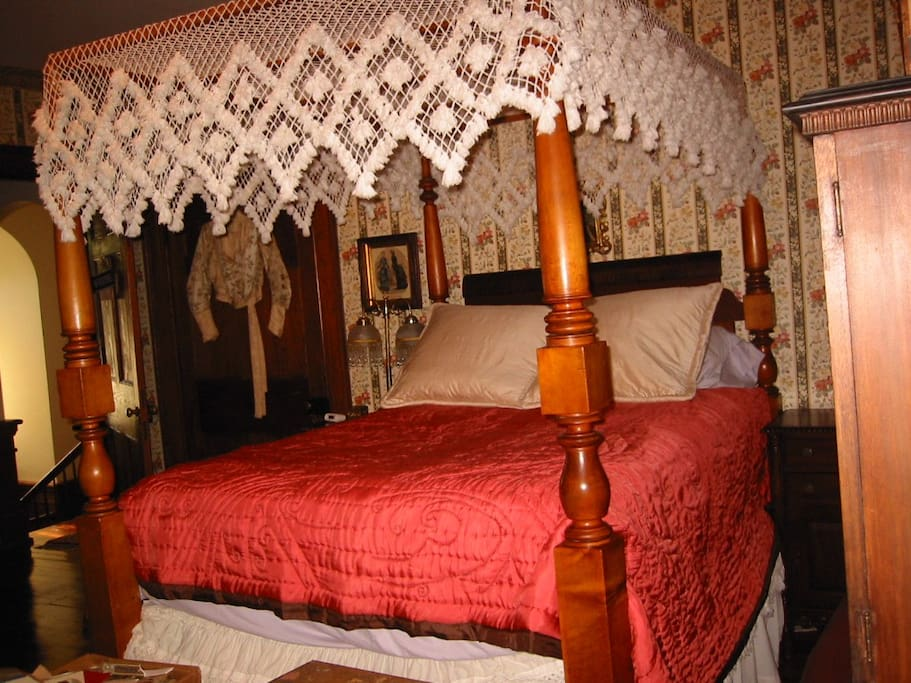 your bedroom in my historic colonial home