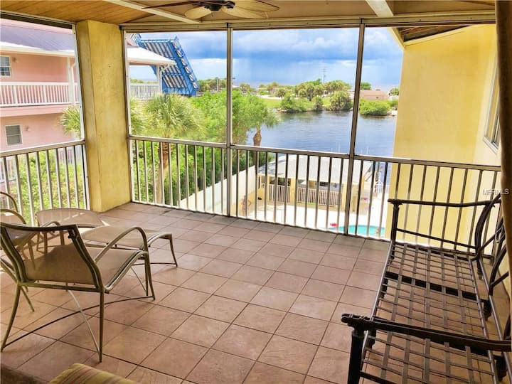 Condo overlooking Intracoastal and Gulf of Mexico