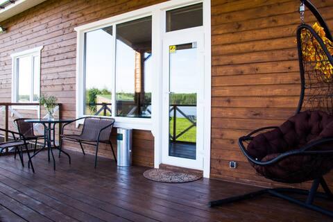 Дом у озера 2- Онежская Горка.Ваш отдых в Карелии!