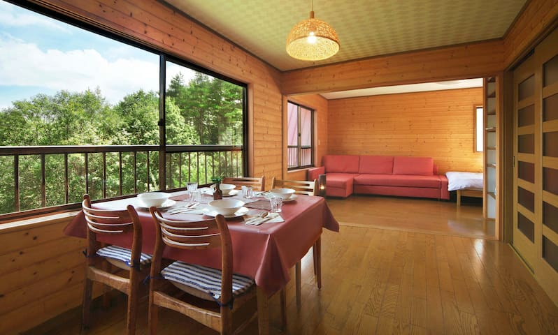Nice View Lodge with Real Onsen!/two-story/7ppl