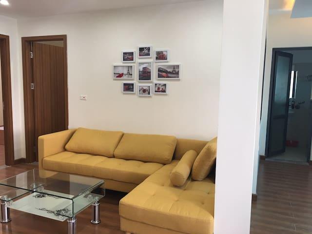 Two bedroom apartment for rent in Van Cao street