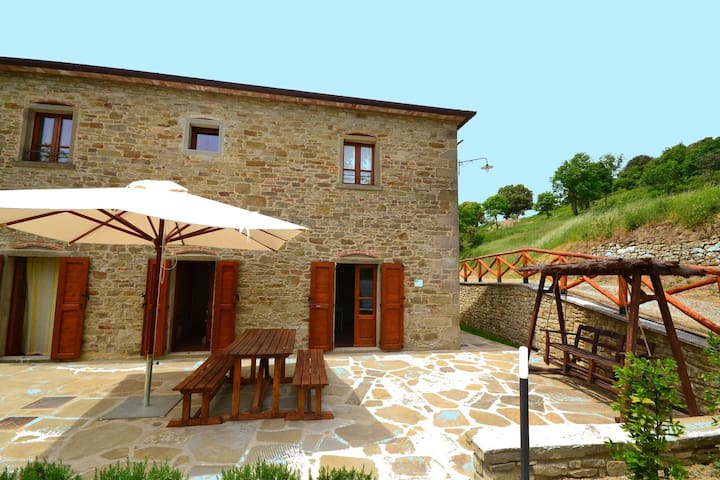 Beautiful accommodation in old stone farmhouse surrounded by breathtaking views
