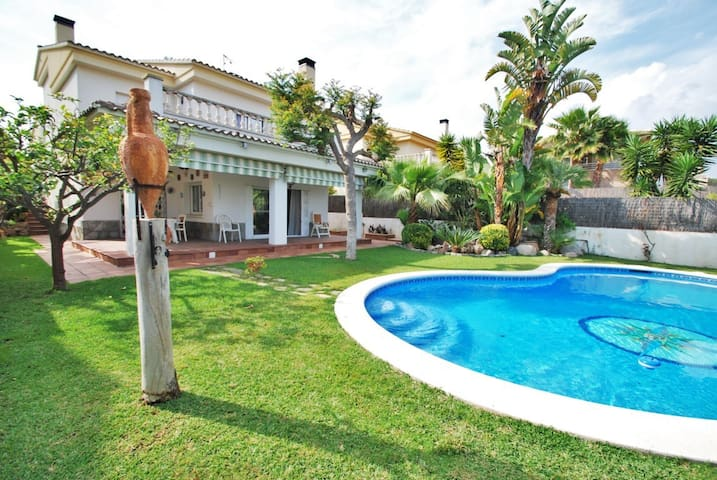 Villa Dalia with private pool close to the beach - Tarragona - Villa